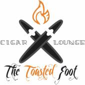 the toasted foot cigar lounge logo